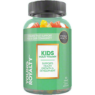 Problk Health Young Royalty Kids Multi Vitamin Gummies, 90 ct