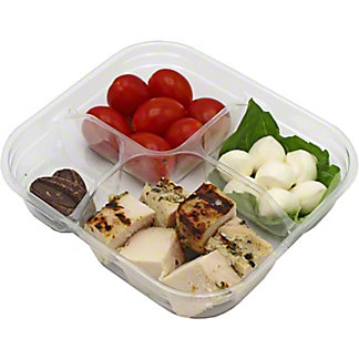 Central Market Herb Chicken And Mozzarella Perles Snack Pack, ea