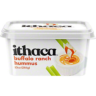 Ithaca Cold Crafted Buffalo Ranch Hummus, 10 oz