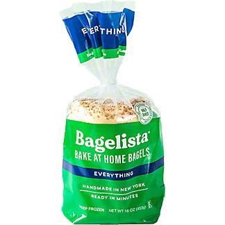 Bagelista Everything Bake At Home Bagels, 16 oz