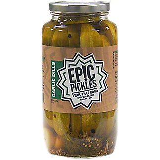 Epic Pickles Garlic Dill Spears, 32 oz