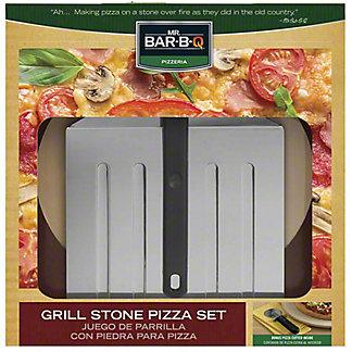 Mr. Bar-B-Q Grill Stone Pizza Kit, ea