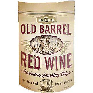 Mr. Bar-B-Q Old Barrel Red Wine Smoking Chips, 12.7 oz