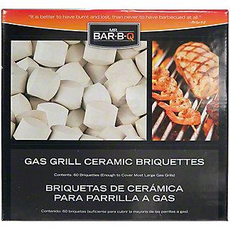 Mr. Bar-B-Q Ceramic Briquettes, ea