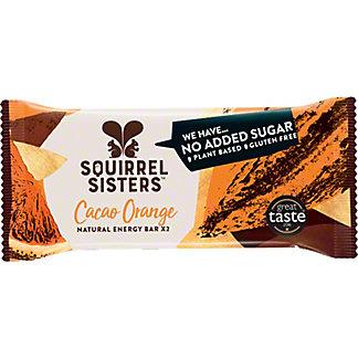 Squirrel Sisters Cacao Orange Energy Bar, 1.41 oz