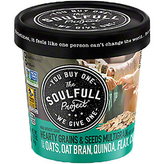 The Soulfull Project Hearty Grains And Seeds Cup, 2.15 oz