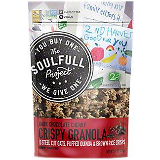 The Soulfull Project Dark Chocolate Cherry Crispy Granola, 11 oz