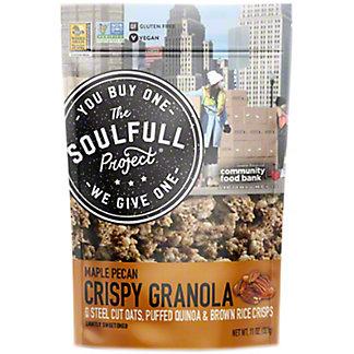 The Soulfull Project Maple Pecan Crispy Granola, 11 oz