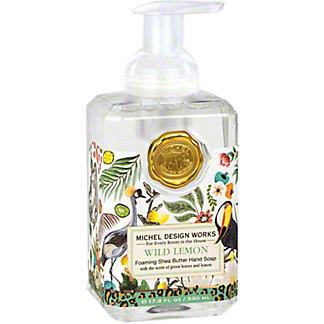 Michel Design Works Wild Lemon Foaming Soap, 17.8 oz