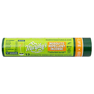 Murphy's Naturals Mosquito Repellent Incense Sticks, 12 ct