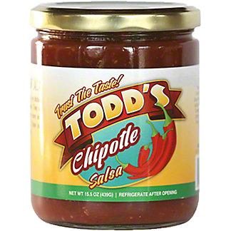 Todd's Chipotle Salsa, 15 oz