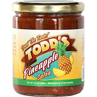 Todd's Pineapple Salsa, 15 oz