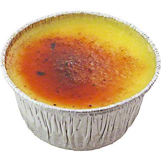 Central Market Passion Fruit Crème Brulee, 4 oz