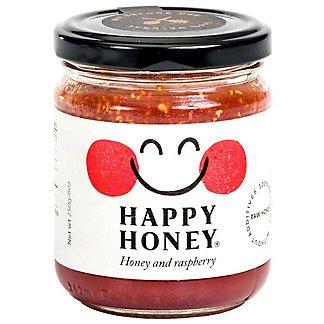 Happy Honey Honey And Raspberry, 8 oz