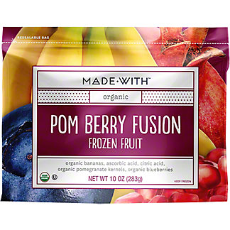 Made With Organic FrozenPom Berry Fusion, 10 oz