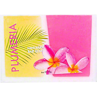 Maui Soap Company Plumeria Bar Soap, 6 oz