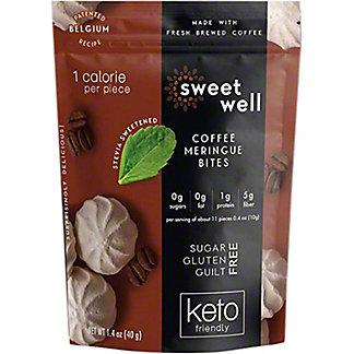 Sweetwell Coffee Meringue Bites, 1.4 oz
