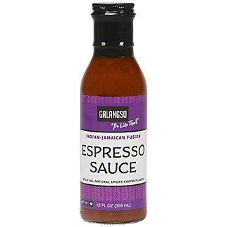 Galangso Espresso Sauce And Marinade, 12 oz