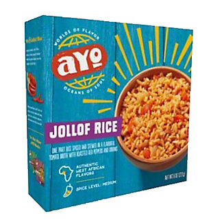 Ayo Jollof Rice, 8 oz