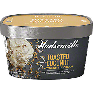 Hudsonville Toasted Coconut Ice Cream, 48 oz