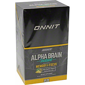 Onnit Pineapple Punch Alpha Brain Packet, 30 ct