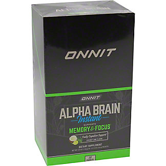 Onnit Coconut Lime Alpha Brain Packets, 30 ct