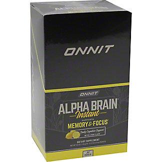 Onnit Meyer Lemon Alpha Brain Packets, 30 ct