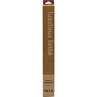 F.E.T.E Soft Luscious Latte Adult Toothbrush, ea