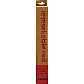 F.E.T.E Soft Remarkable Red Child Toothbrush, ea