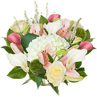 Central Market Blossom White Bouquet, ea