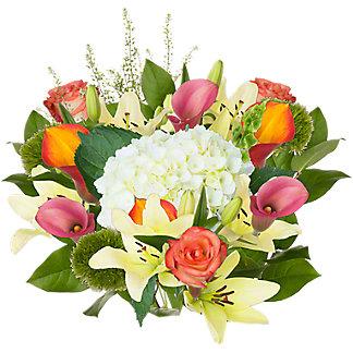Central Market Joy White Bouquet, ea