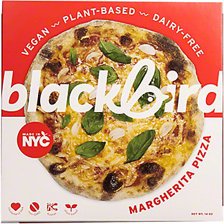 Blackbird Foods Plant Based Margherita Pizza, 14 oz