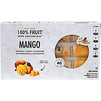 Fruiti Fruit Mango Chunks Fruit Tubes, 6 ct