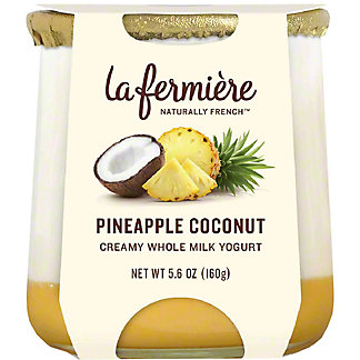 La Fermiere Pineapple Coconut Yogurt, 5.6 oz