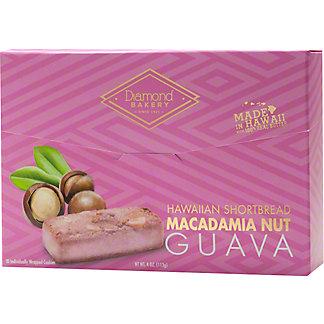 Diamond Bakery Guava Hawaiian Macadamia Nut Shortbread, 4 oz