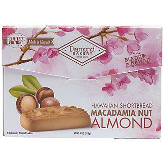 Diamond Bakery Almond Hawaiian Macadamia Nut Shortbread, 4 oz