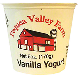 Pequea Valley Farm Vanilla Whole Milk Yogurt, 6 oz
