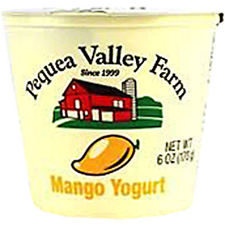 Pequea Valley Farm Mango Whole Milk Yogurt, 6 oz