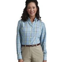 Poplin Plaid Blouse 060838  WHILE SUPPLIES LAST