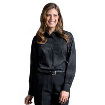 Pinstripe Blouse 061737  WHILE SUPPLIES LAST