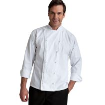 Chef Coat W/Knot Buttons 062352  WHILE SUPPLIES LAST