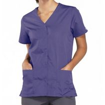 Cherokee 4770 Snap-Front Top 064014  WORKWEAR