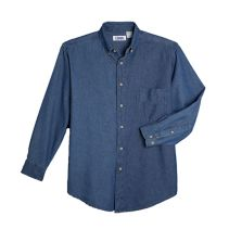 Button-Down Denim Shirt 065415  WHILE SUPPLIES LAST