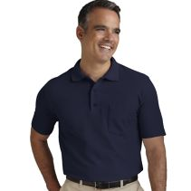 Mens Blended Polo With Pocket 067177