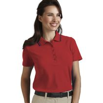 Contrast Trim Female Polo 067257  WHILE SUPPLIES LAST
