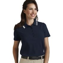 Contrast Trim Polo F 067257  WHILE SUPPLIES LAST