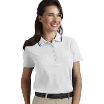 Contrast Trim Female Polo067257WHILE SUPPLIES LAST