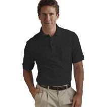 Cotton Pique Polo With Pocket 069148