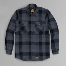Quilted Line Flannel Shirt Jac 070373