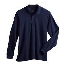 Long Sleeve Male Polo071786